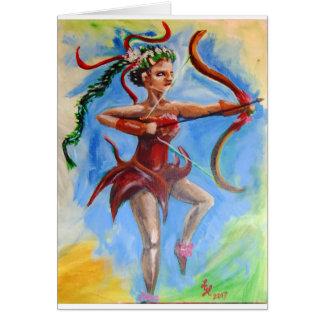 Cartão Arqueiro de Amazon