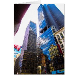 Cartão Arranha-céus NYC