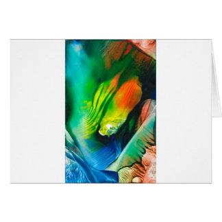 Cartão Arte 0001 da cera