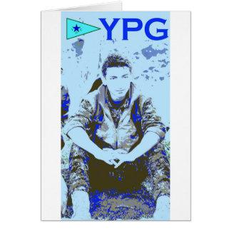 Cartão Arte 3 do soldado 3 de YPG