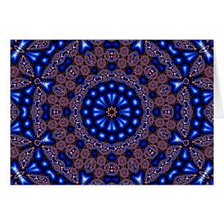 Cartão Arte 670 do caleidoscópio do Fractal