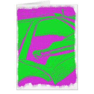Cartão Arte de Lambo