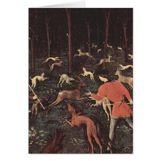 Cartão Arte de Paolo Uccello