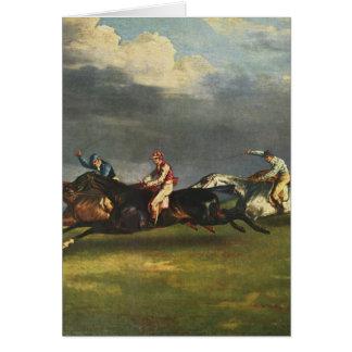 Cartão Arte de Theodore Gericault