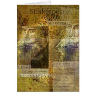 Cartão Arte de WILLIAM SHAKESPEARE