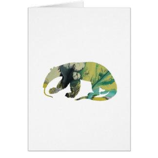 Cartão Arte do Anteater