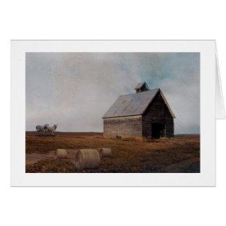 Cartão Arte do celeiro