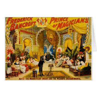 Cartão arte do circo