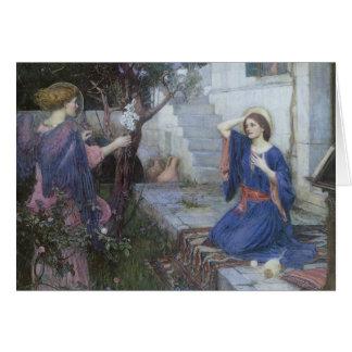 Cartão Arte do Victorian, aviso pelo Waterhouse de JW