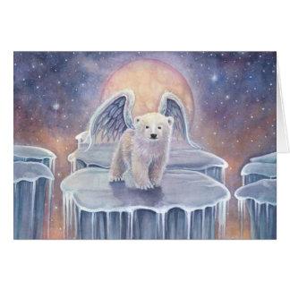 Cartão Arte doce da fantasia dos animais selvagens do