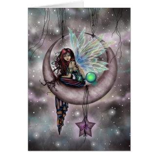 Cartão Arte feericamente da fantasia de Electra Fae por