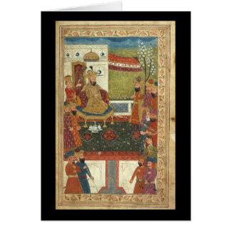 Cartão Arte islâmica--Imagens muito velhas do Islão
