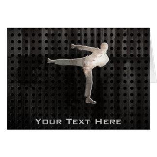 Cartão Artes marciais legal