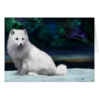 Cartão ártico do espírito