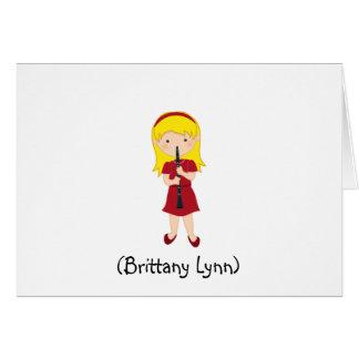 Cartão Artigo de papelaria-Miúdo personalizado das