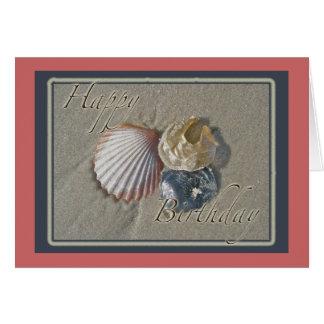 Cartão Artigos de coordenação do feliz aniversario dos