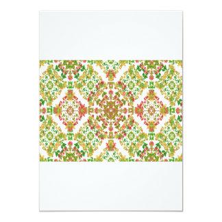 Cartão Artigos de papelaria com beiras decorativas do