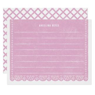 Cartão Artigos de papelaria da bandeira do corte do papel
