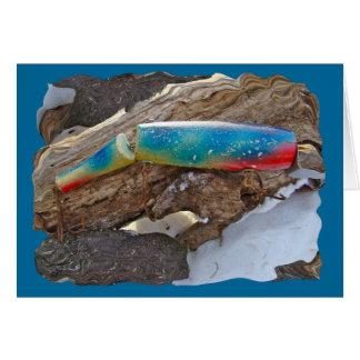 """Cartão Artigos ILUMINADOS """"PERUCA"""" da atração da água"""