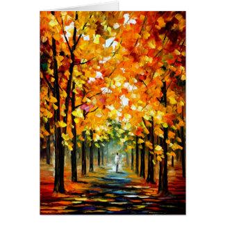 Cartão Árvore