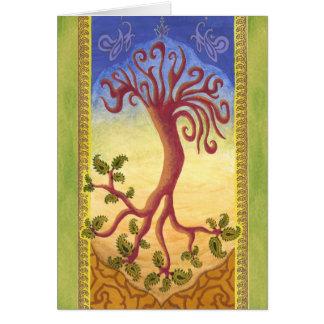 Cartão Árvore da eternidade