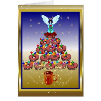 Cartão Árvore da rosquinha