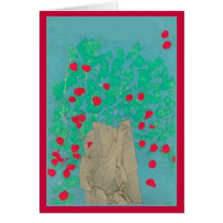 Cartão Árvore de Apple