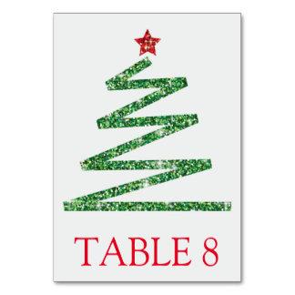 Cartão Árvore de Natal do brilho