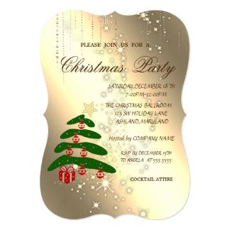 Cartão Árvore de Natal, faísca, festa de Natal