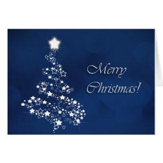 Cartão Árvore de Natal Sparkling