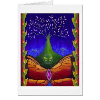 Cartão Árvore de vida