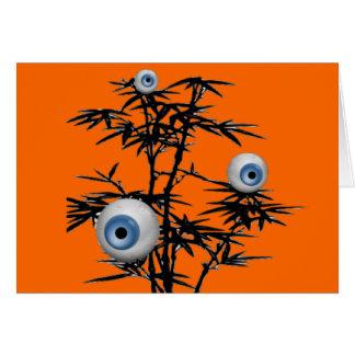 Cartão Árvore do olho