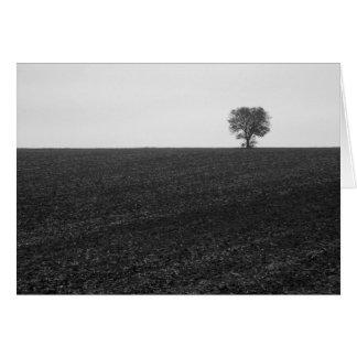 Cartão Árvore só