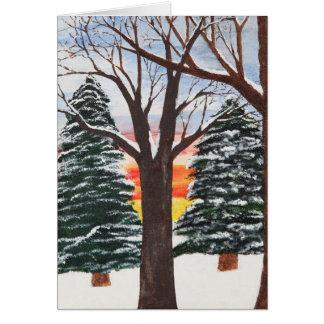 Cartão Árvores