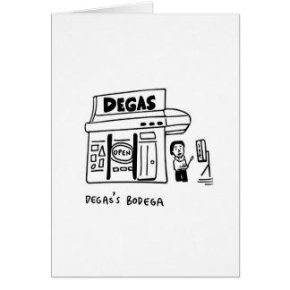 Cartão As adegas Degas