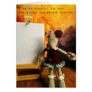 Cartão As aventuras surpreendentes de Amelia