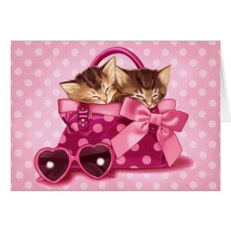 Cartão As bolsas de bonito