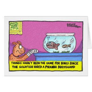 Cartão As coisas não tinham sido as mesmas para Binky…