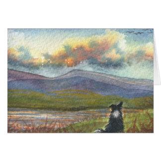 Cartão As colinas estão chamando