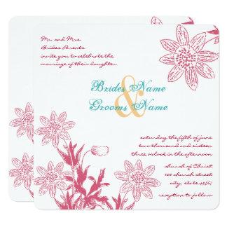 Cartão As cores do casamento do primavera da madressilva