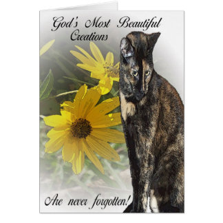 Cartão As criações as mais bonitas do deus