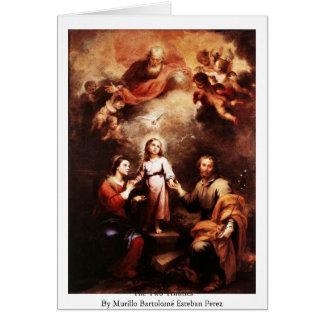 Cartão As duas trindades