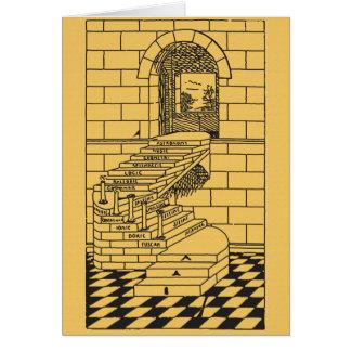 Cartão As etapas da alvenaria