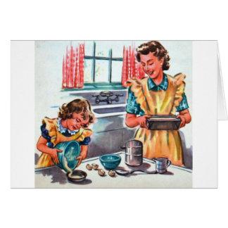 Cartão As filhas nunca Outgrow seu coração,