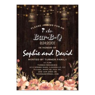 Cartão As lanternas que velhas de madeira florais do