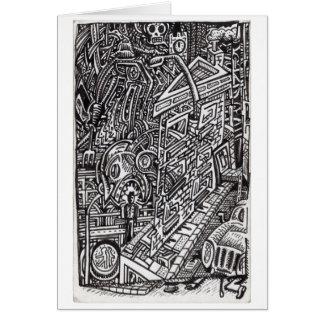 Cartão As maxilas do destino