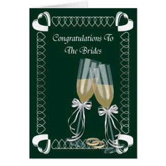 Cartão As noivas