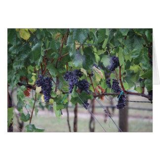 Cartão As uvas serão vinho