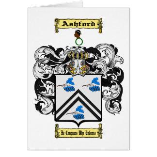 Cartão Ashford