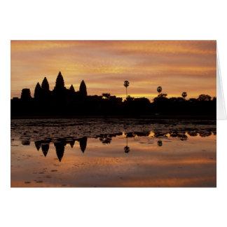 Cartão Ásia, Cambodia, Siem Reap, Angkor Wat (B. 12o